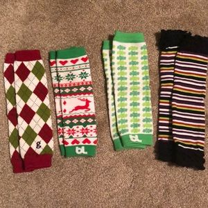 Assorted Holiday Baby Leggings